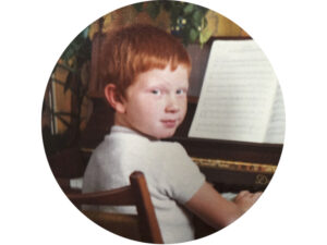 Axel Kind Portrait am Klavier